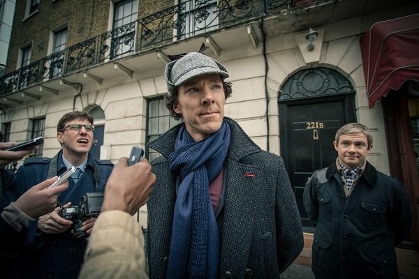 11 Sneak peek shots from Sherlock Season 3 -- Ben