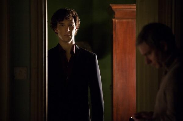 11 Sneak peek shots from Sherlock Season 3 -- Ben and Martin