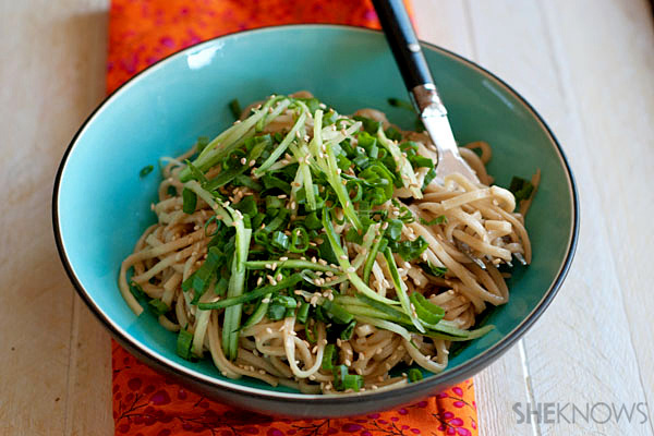 Sesame is the name of the flavor game with these Shiratake noodles