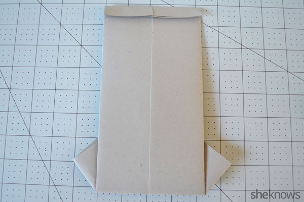 Father's Day shirt card: Turn card over and fold top