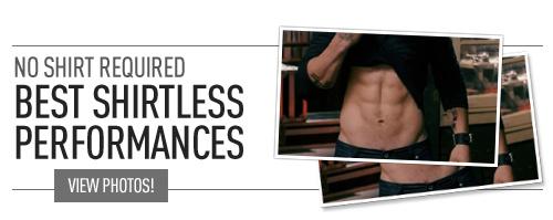 Shirtless performances banner