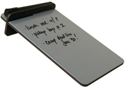 Silver Desktop Dry-Erase Board