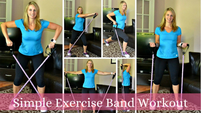 Simple band workout