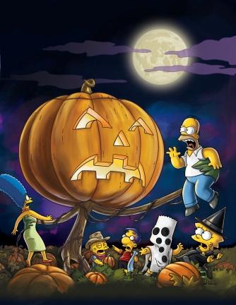 The Simpsons celebrate Halloween late...again