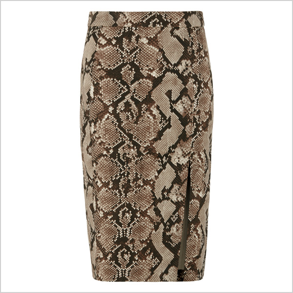 Pencil Skirt in Python Print