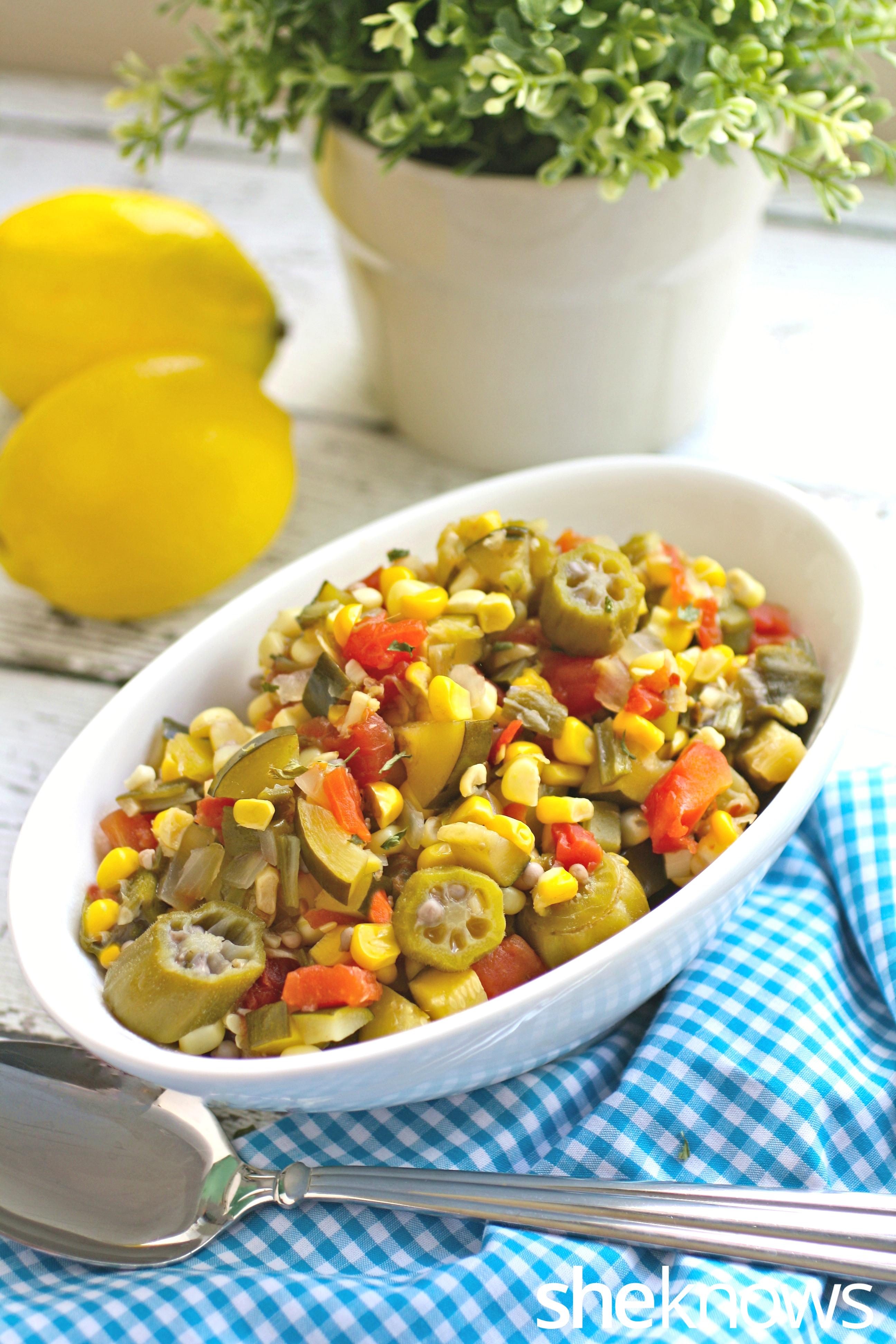 Summer-vegetable-succotash