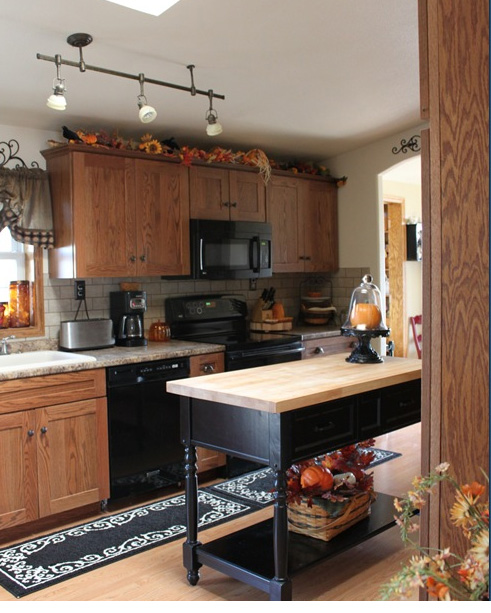 Small Home in the Country kitchen