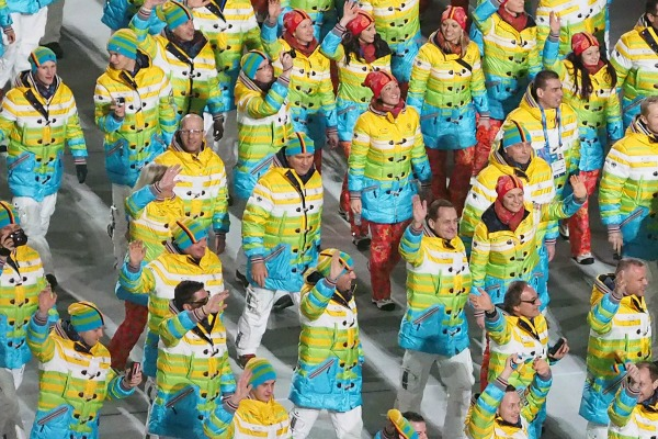 The best of the Sochi Winter Olympic uniforms