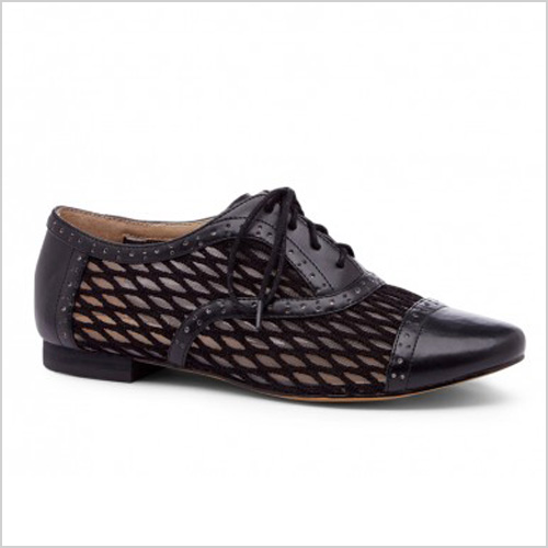 Sole Society Liesy Lace Up Oxford in Black