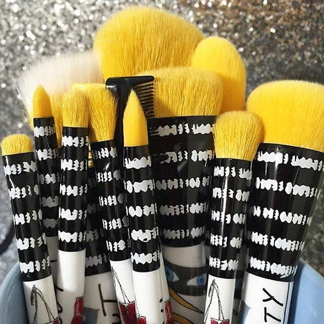 Sonia Kashuk's brushes