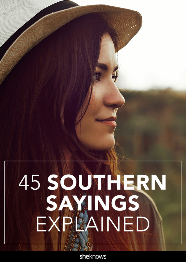 Southern phrases