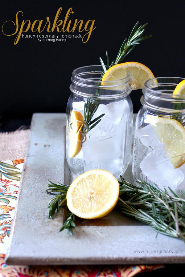 sparkling-honey-rosemary-lemonade