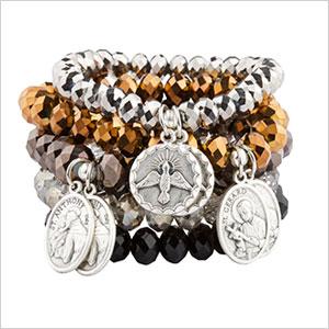 sparkly group bracelet