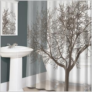 Splash Home Tree shower curtain