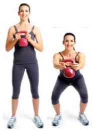 Squat push