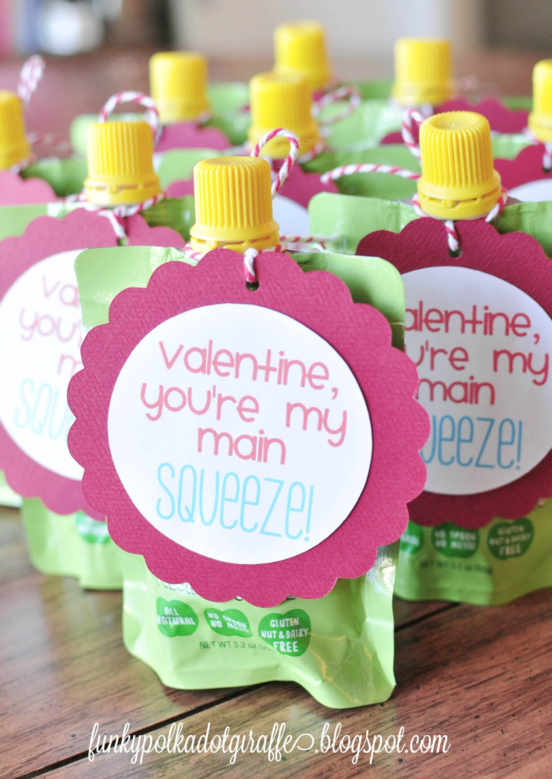 Non-candy Valentine's for kids