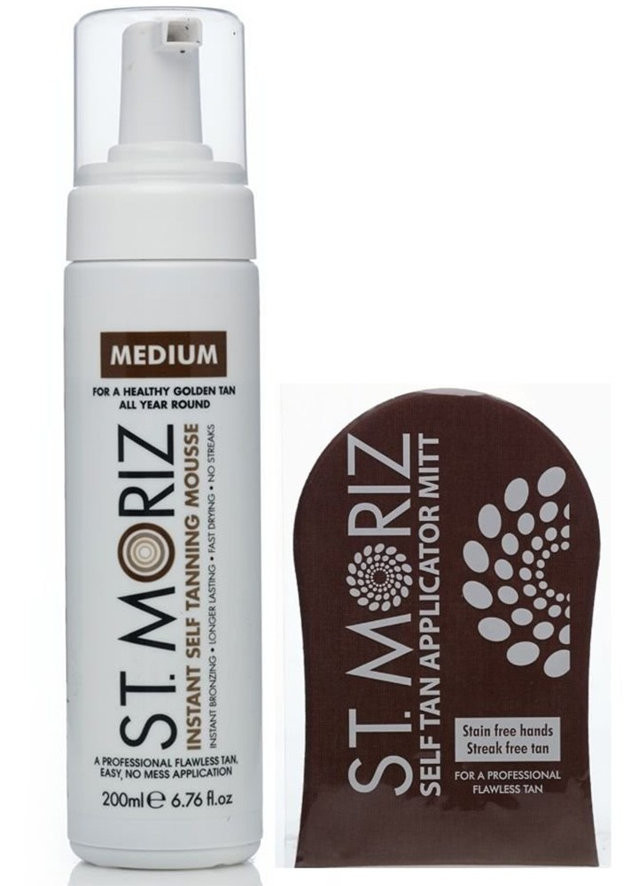 0a0a16e9c88c Best Under- 20 Drugstore Self-Tanners  St. Moriz Instant Self Tanning Mousse