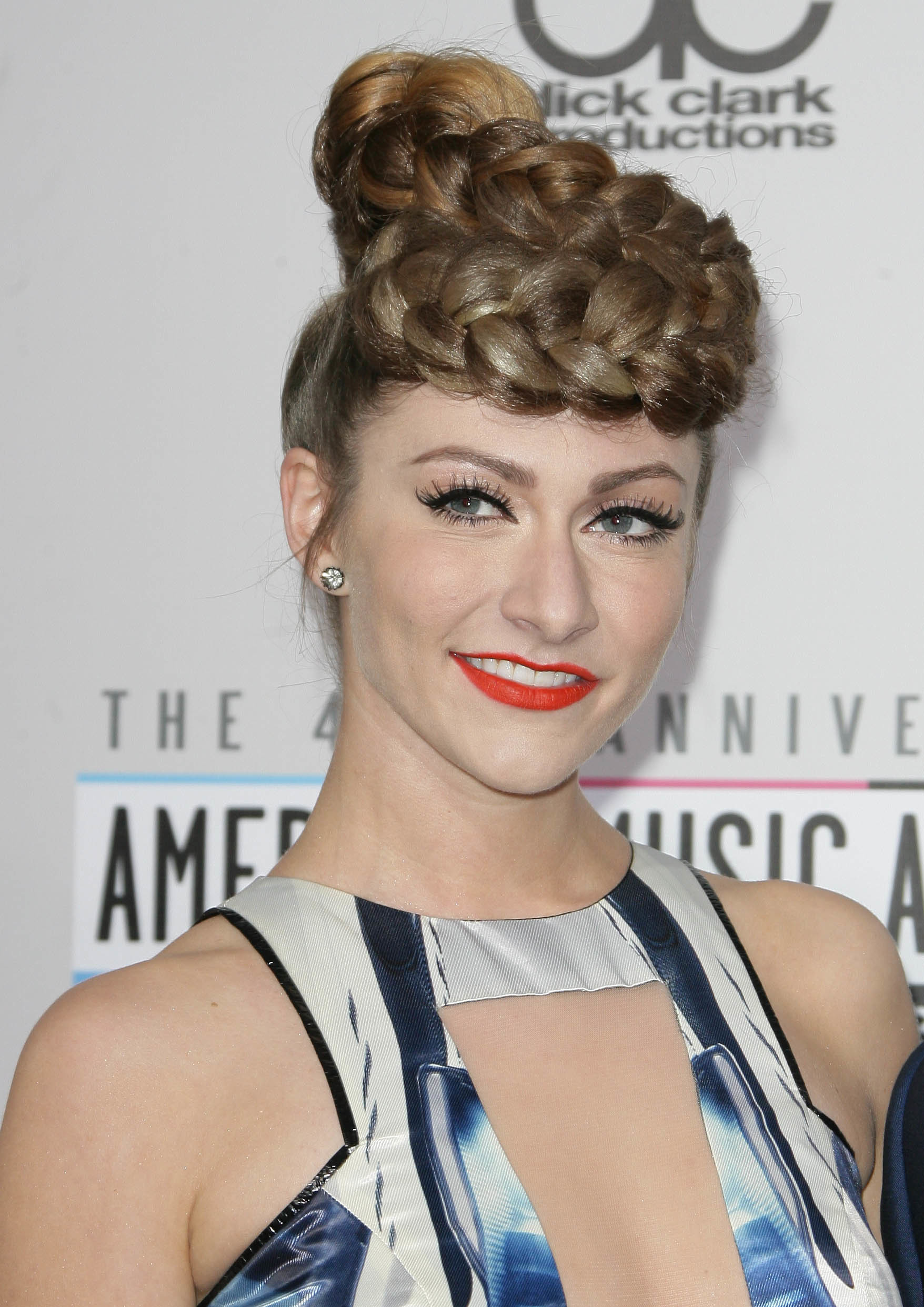 Stacked braids: Amy Heidemann