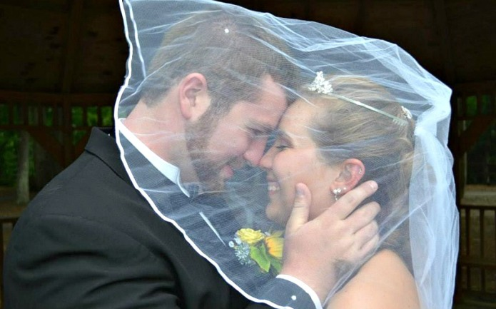 Newlyweds get married a second time