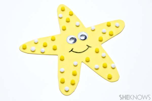 Starfish craft - Ocean crafts for kids