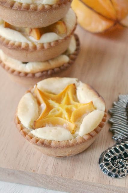 Exotic Fruit Desserts: Star Fruit Tartlets | Summer Eats
