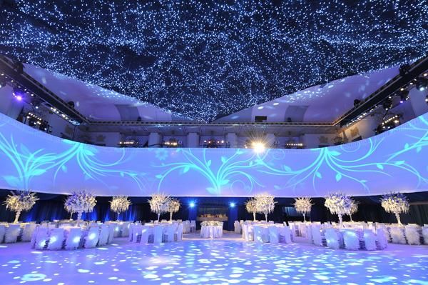 Starry night at the Waldorf Astoria