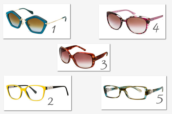 Statement glasses