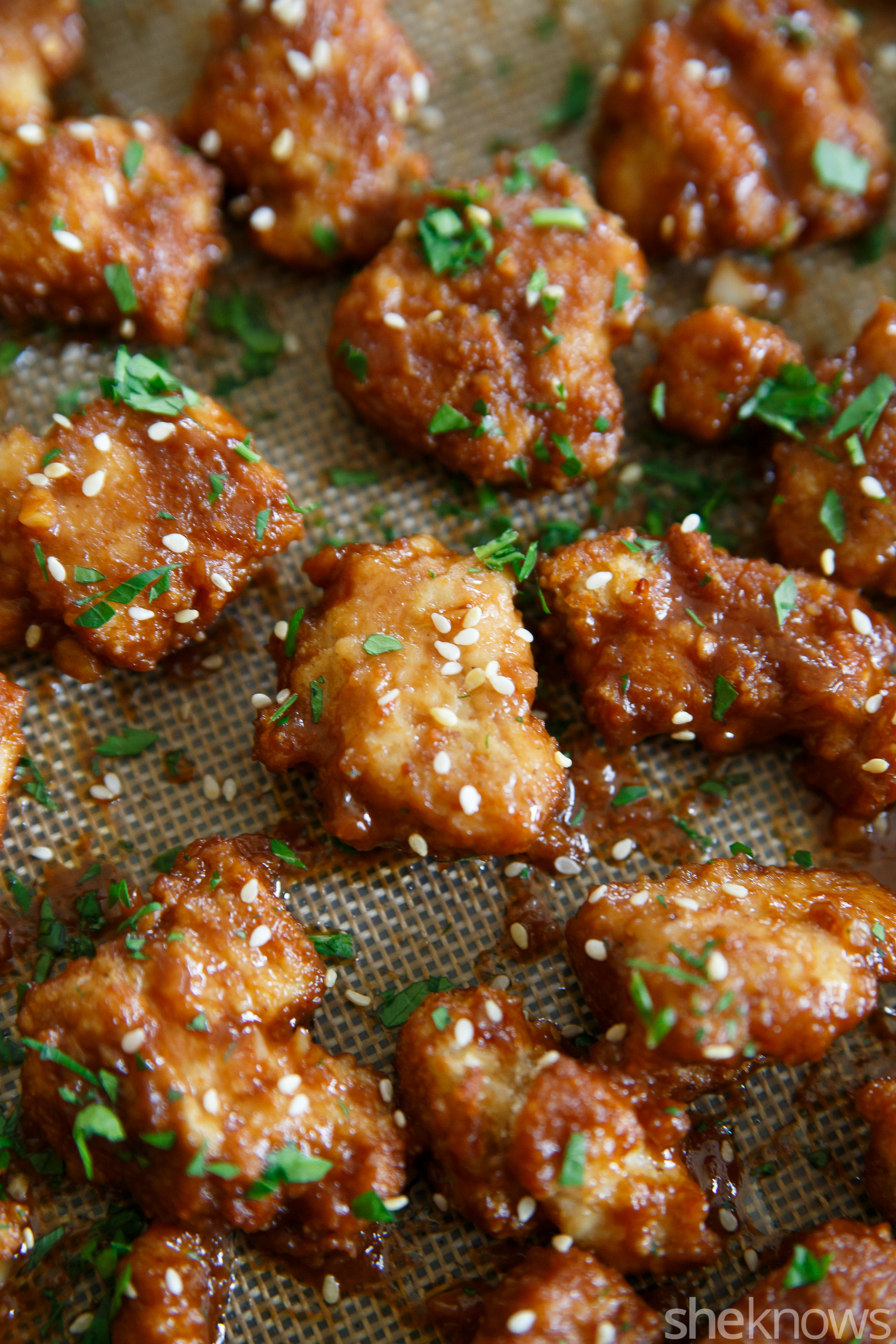Sticky Asian chicken bites are as addictive as they sound – SheKnows