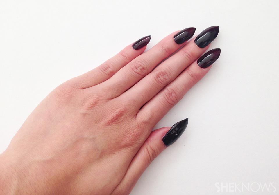 Once You Have Your Nails On Can Add Any Finishing Touches Like Nail Jewels Or Extra Filing Shaping That S Needed