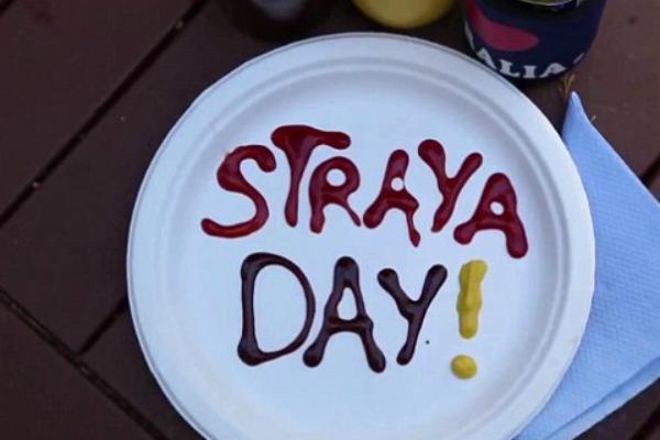"""Straya """"Hey Ya"""" song"""