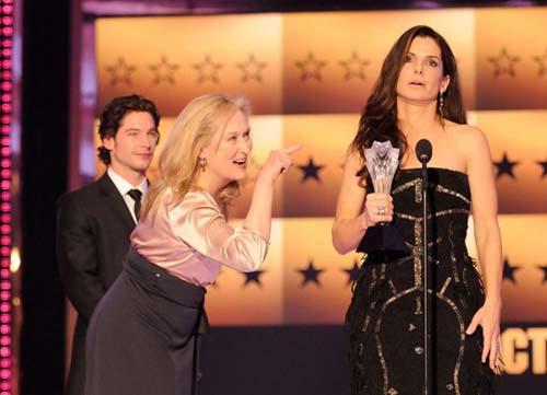 Mery Streep Sandra Bullock