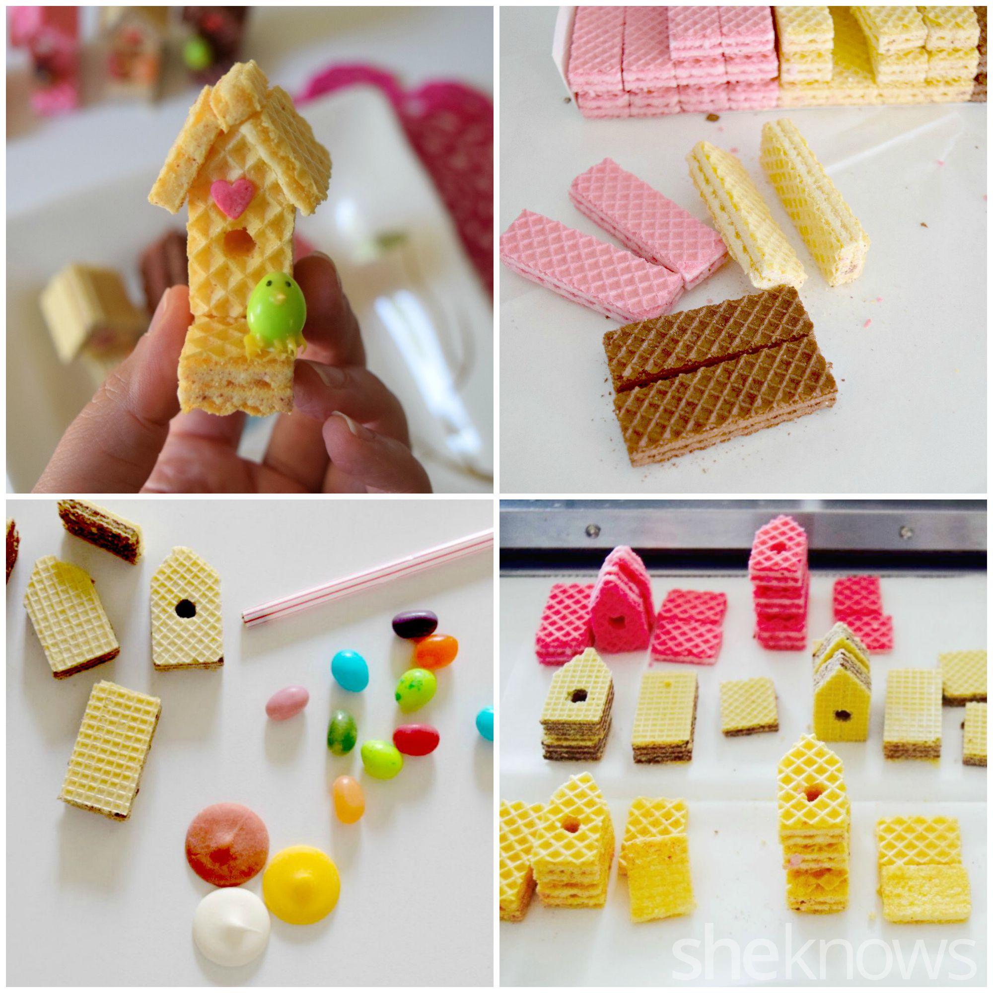 How to Make Sugar Wafer Bird House