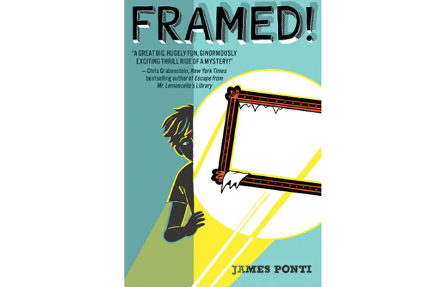 Image of teen book titled Framed!