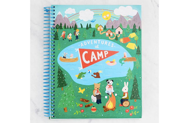 Journal with woodland animals