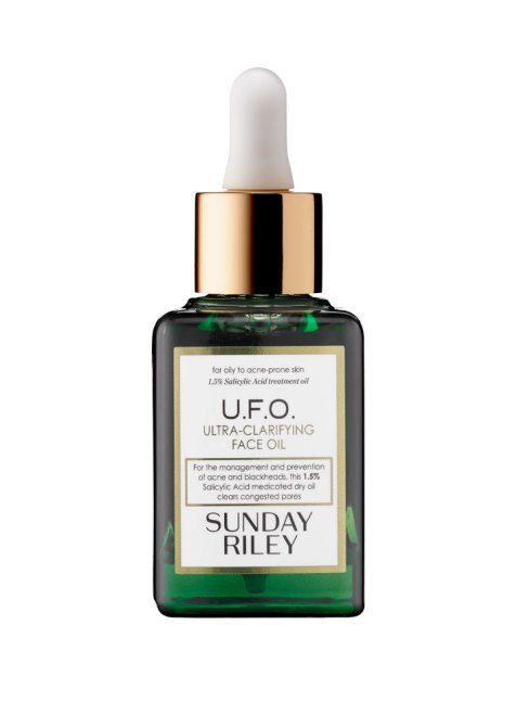 Type of Oils for Your Skin Type | Sunday Riley U.F.O. Ultra-Clarifying Face Oil