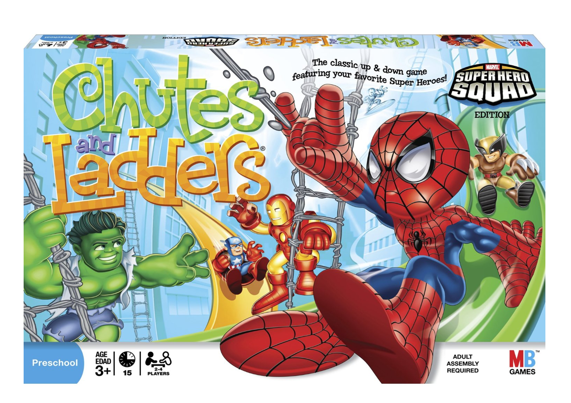 Super Hero Chutes and Ladders