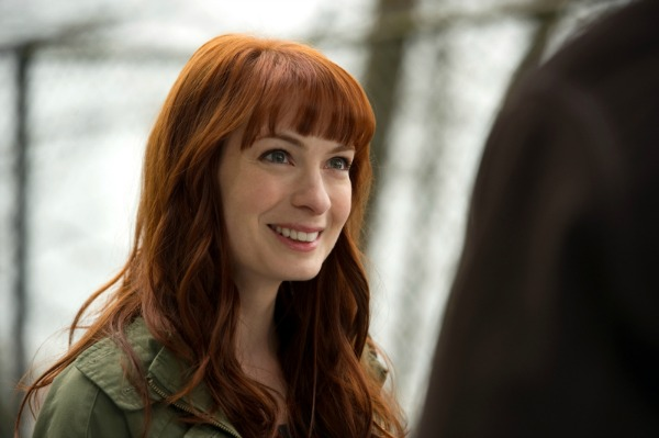 Felicia Day as Charlie in Supernatural