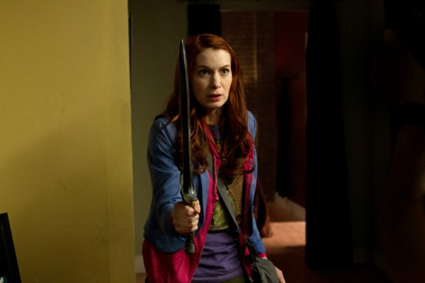 "Felicia Day as Charlie in Supernatural ""The Girl with the Dungeons and Dragons Tattoo"""