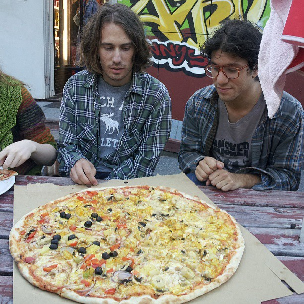 Swedish pizza