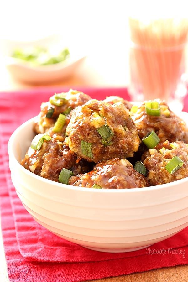 chili meatballs