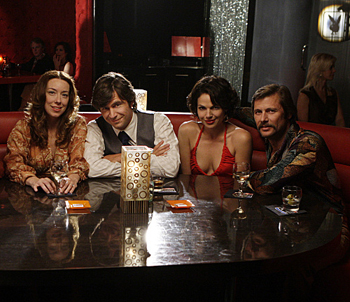 The cast of Swingtown on CBS