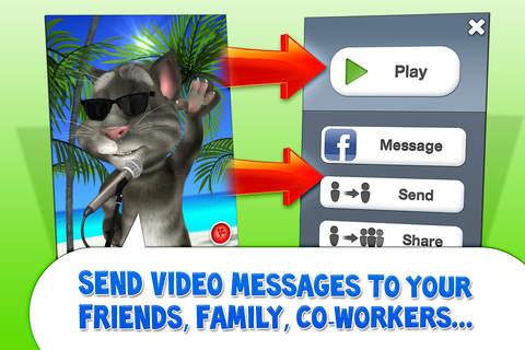 Cat messenger app