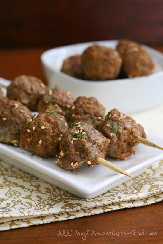 tandoori meatballs