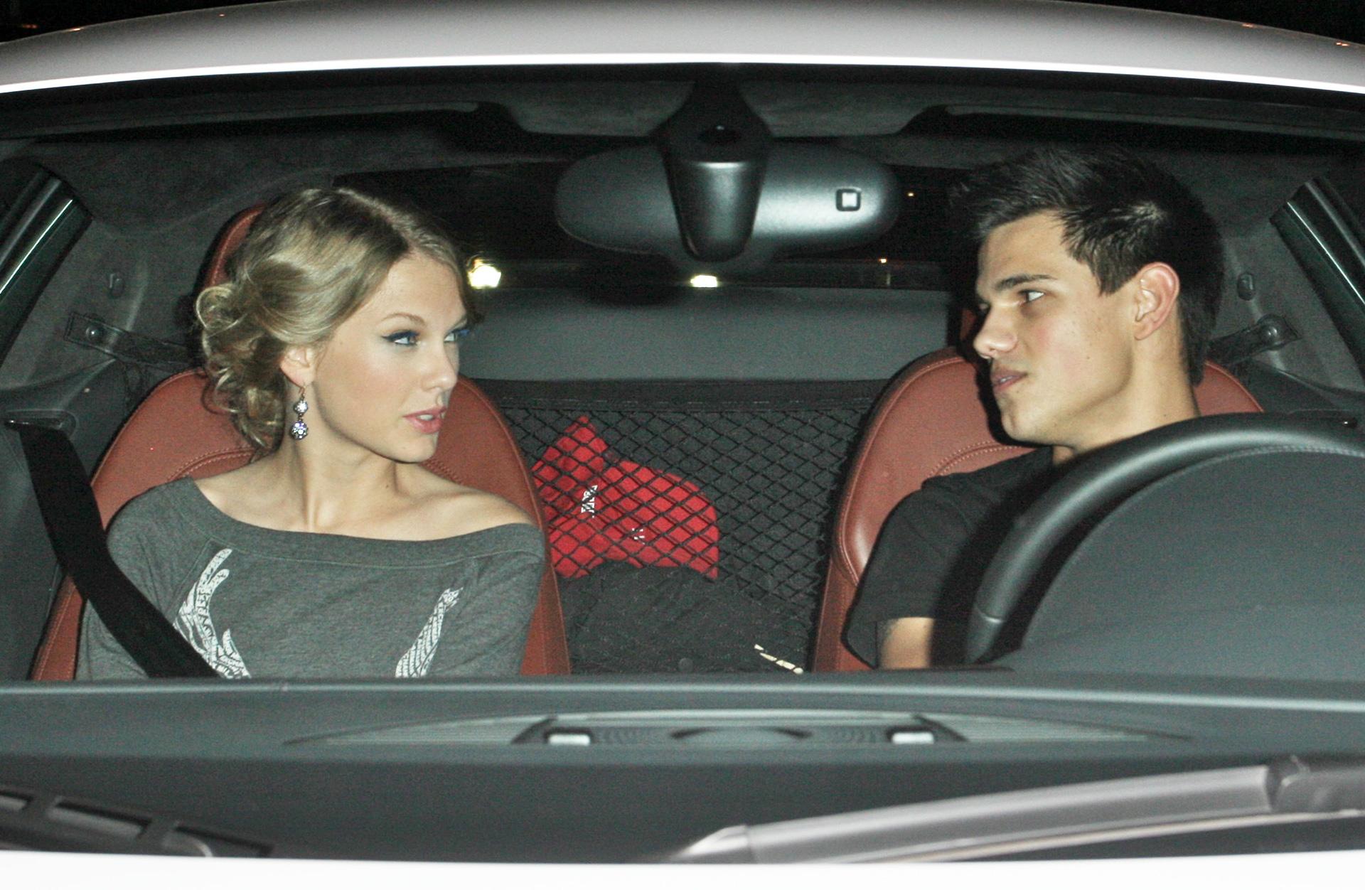 Tayor Swift and Taylor Lautner