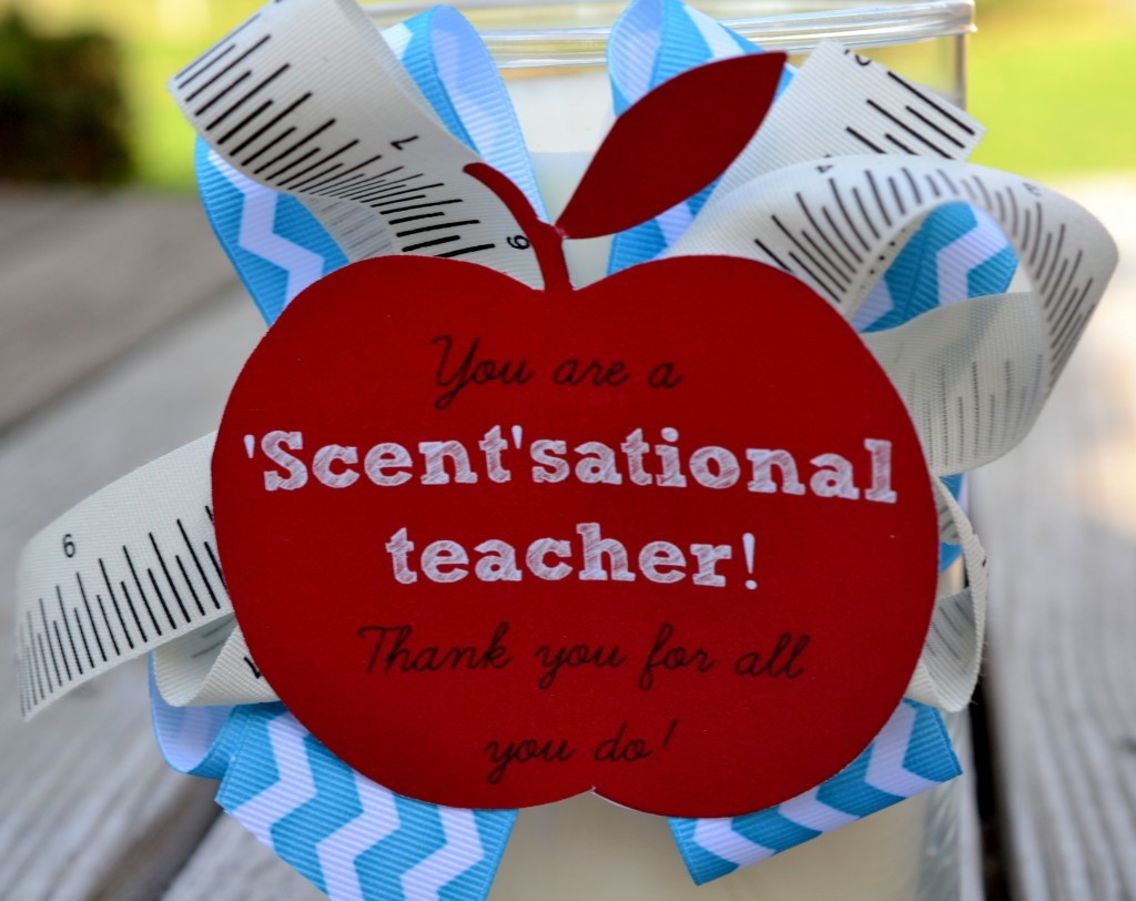 DIY Non- Heart Valentines Gifts For Teachers | DIY Scented Candle