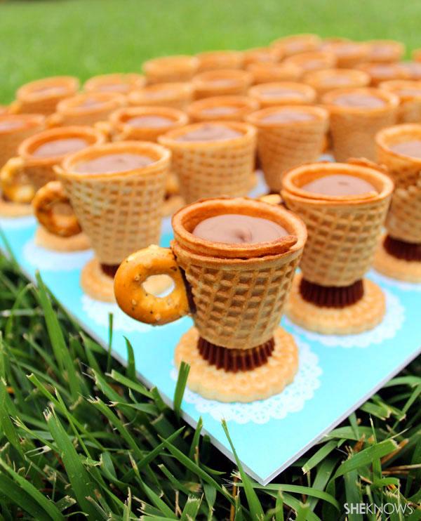 Teacup Cookies | Spectacular DIY Kids Tea Party Ideas | tea party decor ideas