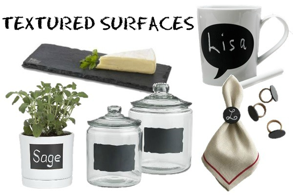 Textured surfaces