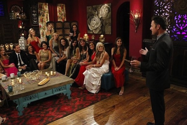Juan Pablo and his 27 women during The Bachelor premiere