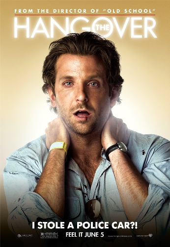 Bradley Cooper enjoys The Hangover