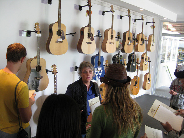 The Maton Guitar Factory tour